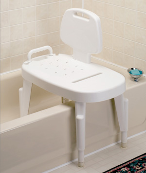 Bath Safe Adjustable Transfer Bench Height Adjustable