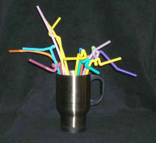 Squiggly Extra Long Straw Pack of 144 - Discontinued