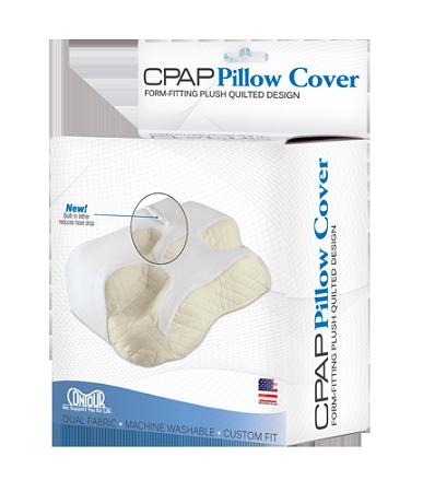 contour cpap pillow custom velour cover