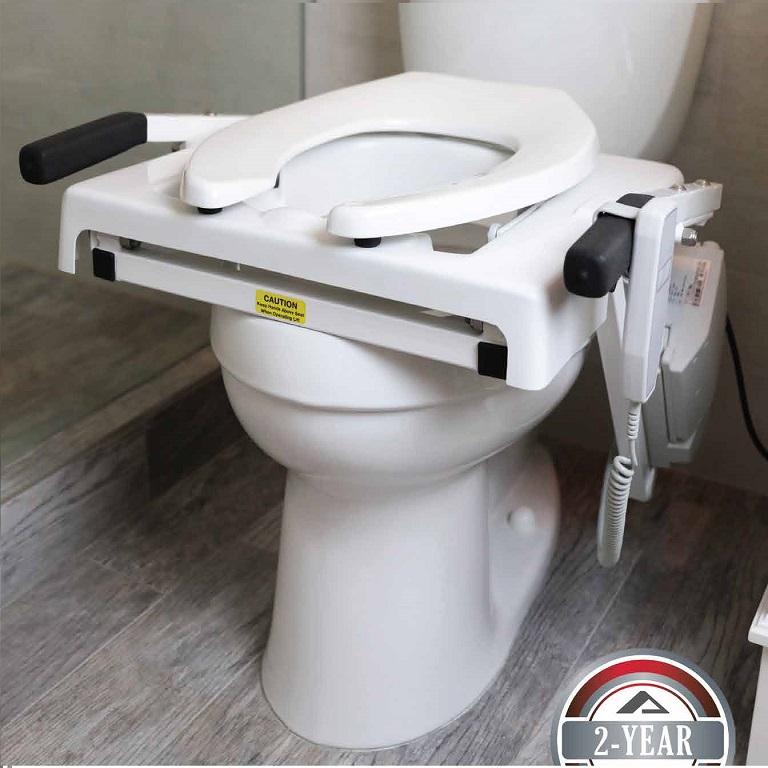 Ez Access Tilt Toilet Seat Lift Push Button Commode Lift