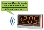 Reminder Rosie Personalized Voice Reminder Clock