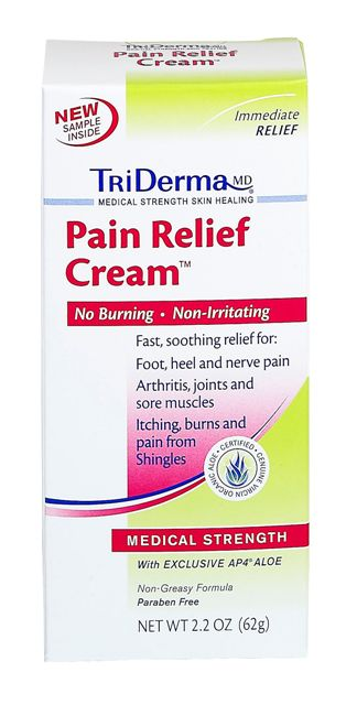 Triderma Pain Relief Cream Topical Pain Relief