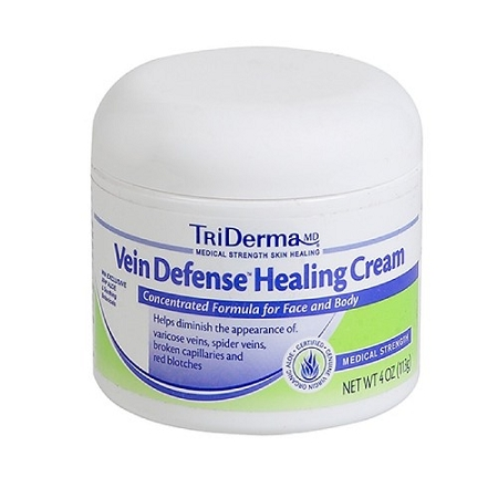 Tri-Derma Vein Defense Healing Cream 4oz Jar