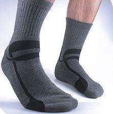 Silipos Gel Moisturizing Socks for Men