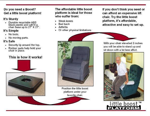 Little Boost Platform Recliner Chair Lift