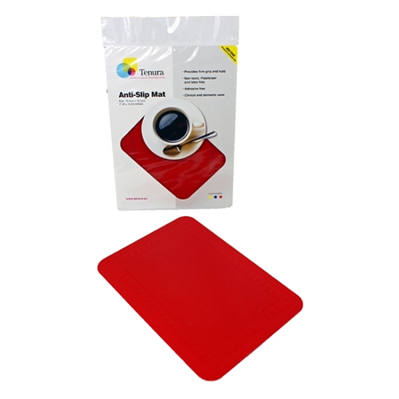 Tenura Small Non Slip Table Pad 10 X 7 Silicone Placemat
