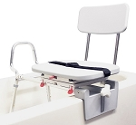 Sliding Tub Mount Transfer Bench with Swivel Seat (COPY)