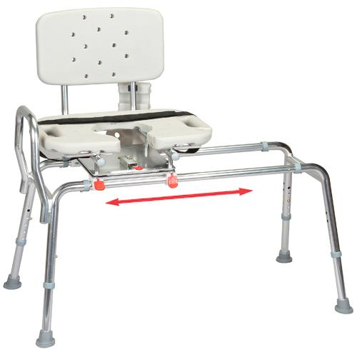 Eagle Snap N Save Extra Long Sliding Transfer Bench with