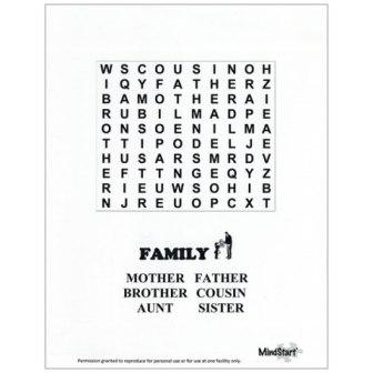 Mind-Start Easy Word Search Puzzles :: useful for adults ...