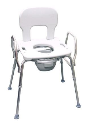 Eagle Health Bariatric Shower Commode Chair With