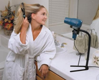 Hands Free Hair Dryer Stand