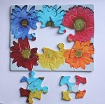 Mind-Start 12-Piece Flower Puzzle
