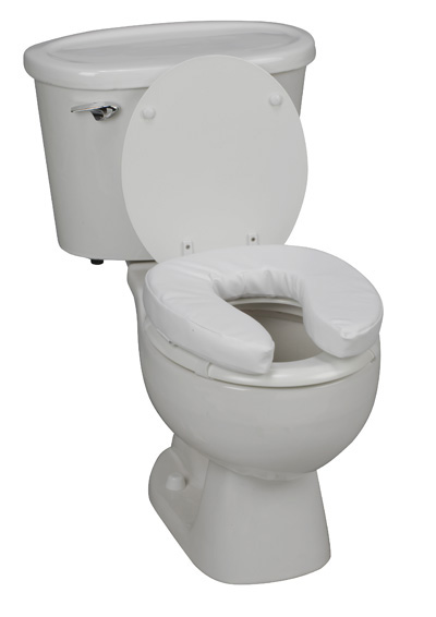most comfortable toilet seat.  Padded Vinyl Toilet Seat Riser padded toilet seat cushion