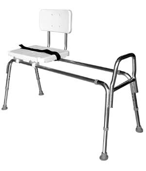 Extra Long Sliding Transfer BenchBath and Shower Chairs for in home care of the elderly  stroke  . Disabled Bathtub Chairs. Home Design Ideas