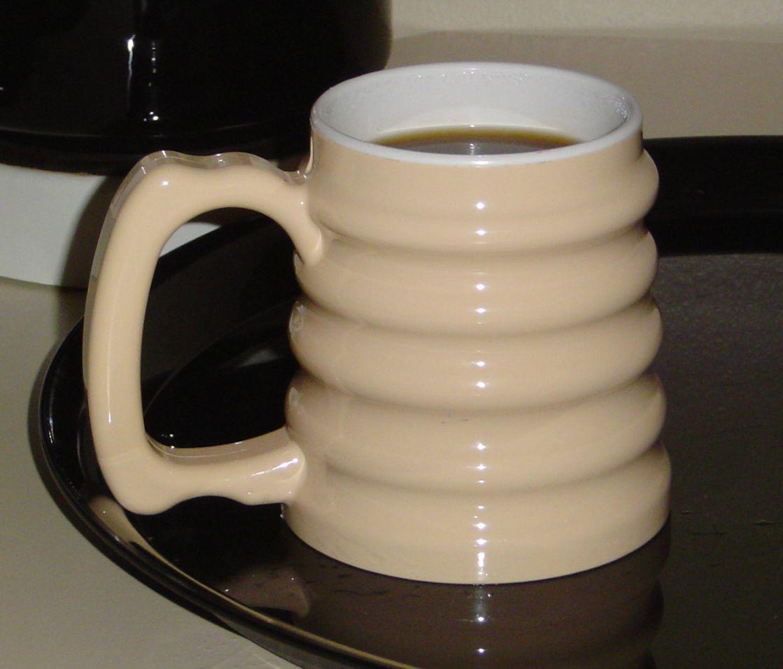 Hand To Hand Mug Large Handle Cup