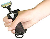 Weighted Cuff for Disposable Razor