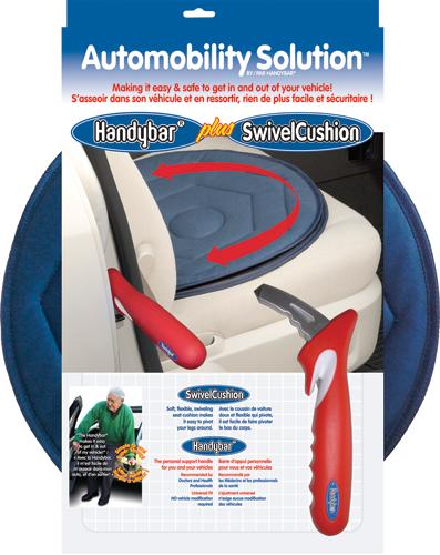 Standers Handybar & Swivel Seat Cushion