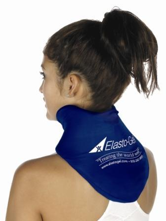 Elasto Gel Cervical Collar Therapy Wrap Contoured Neck