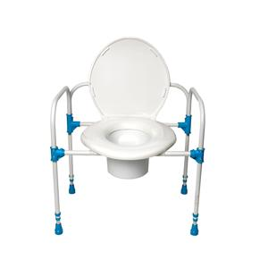 Big John Bariatric Commode Chair heavy duty bedside toilet chair ...