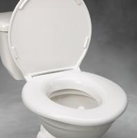 Big John Toilet Seat Standard Heavy Duty Elevated Toilet