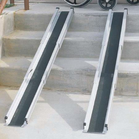 Duro Med Telescoping 5 Foot Wheelchair Ramps