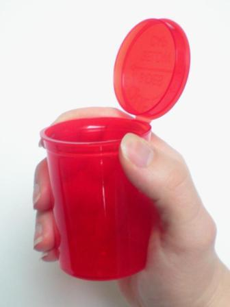 Easy Open Vials Red 4-Pack