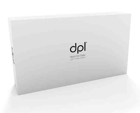 Dpl Led Therapy Neck Pillow Advanced Light Therapy For