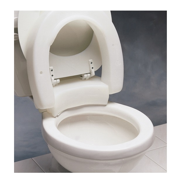 Terrific Hinged Elevated Toilet Seat Bralicious Painted Fabric Chair Ideas Braliciousco