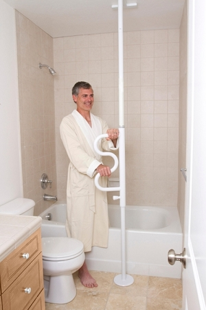 Standers Security Pole And Grab Bar Transfer Standing Aid