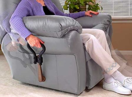 Standers Recliner Lever Extender Easy Reach Handle For Leg