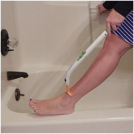 Freedom Wand Personal Hygiene Aid Long Handle Toileting Aid