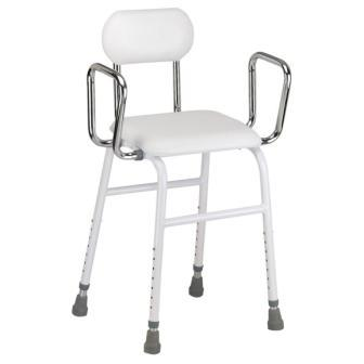 All Purpose Work Stool with Padded Seat and Back  sc 1 st  Caregiver Products & All Purpose Work Stool with Padded Seat and Back :: hip chair islam-shia.org