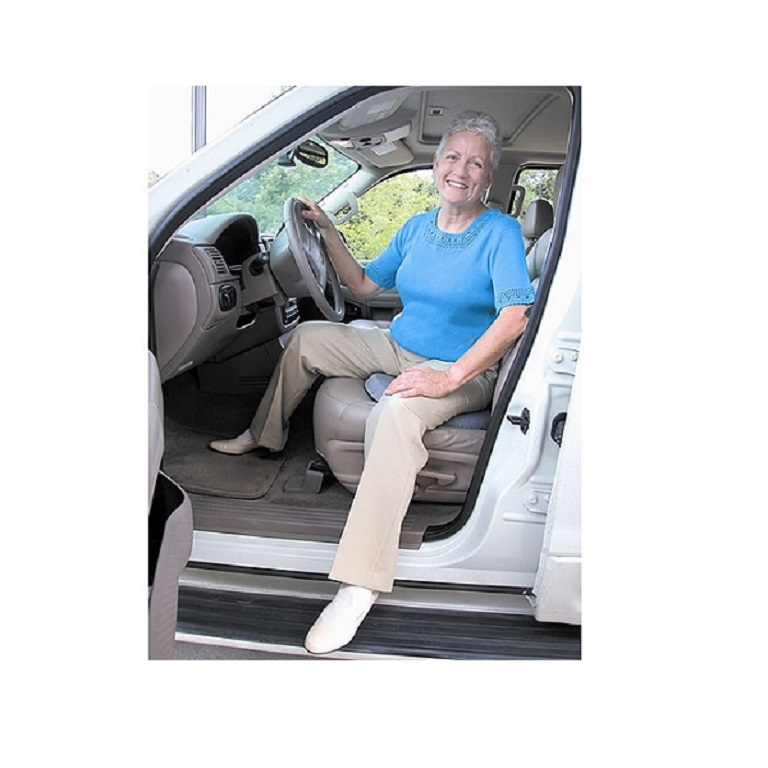 Deluxe Swivel Seat Cushion Helps Enter Exit Car