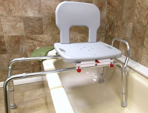 Bariatric Sliding Swivel Bath Transfer Seat Get In Amp Out Of The Tub