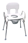 Eagle Health Bariatric Shower Commode Chair