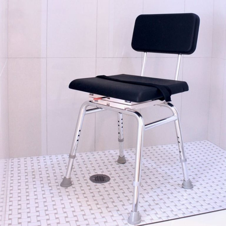 Shower-Chair-with-Padded-Swivel-Seat