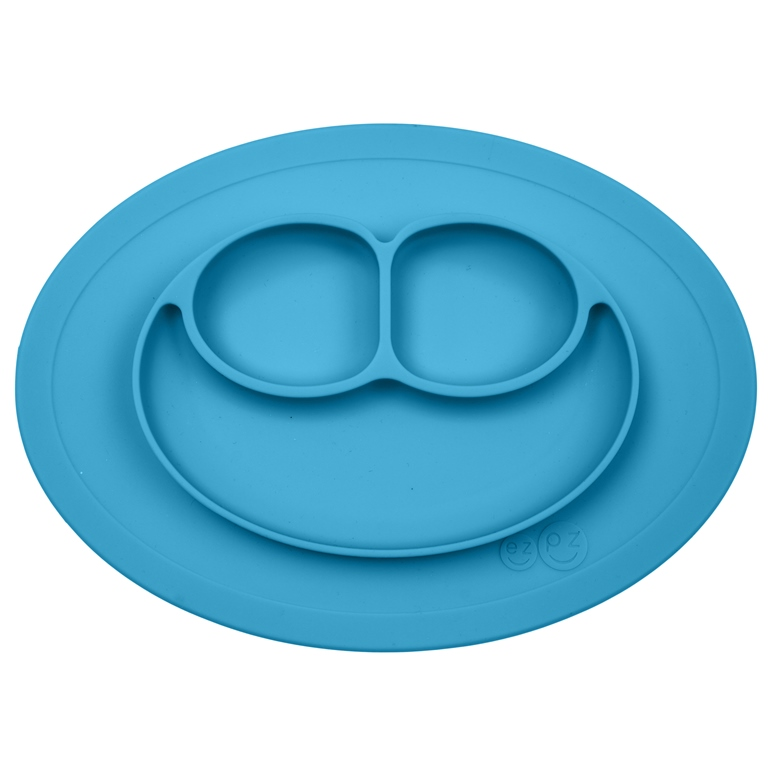Happy-Mini-Mat-Non-Skid-Divided-Dish