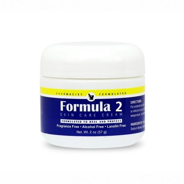 Formula 2 Skin Care Cream 2 oz Jar