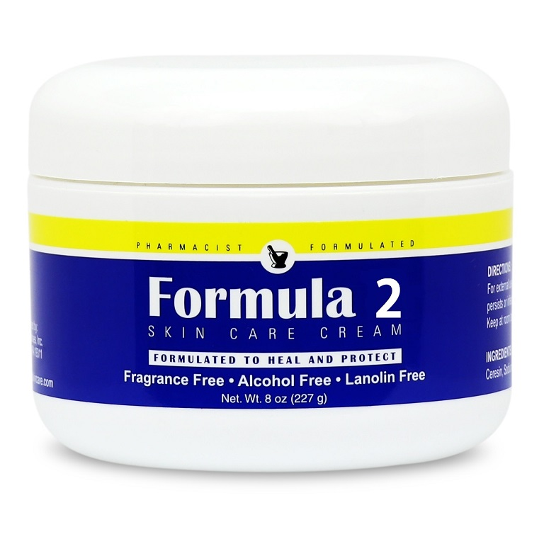 Formula 2 Skin Healing Cream 8 oz Jar