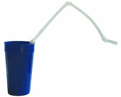 Extra Long Flexible Drinking Straws Hands Free Drinking Aid