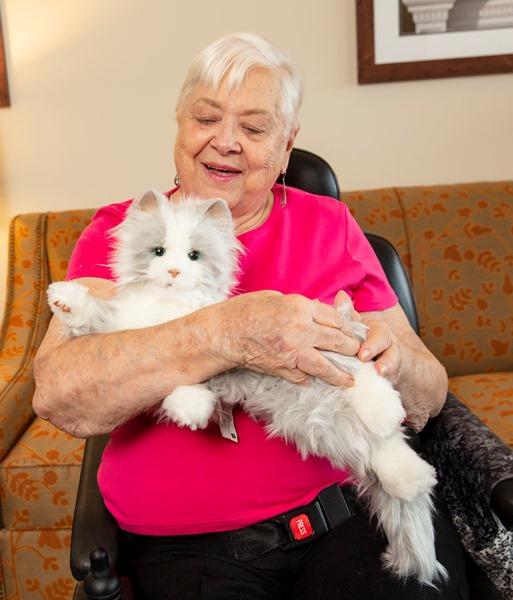 Joy for All Silver Companion Cat