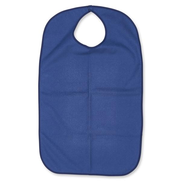 Adult Size Blue Terry Cloth Bib