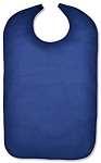 Adult Size Blue Terry Cloth Bib