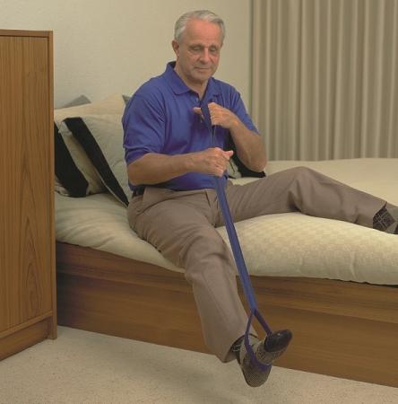 Leg Lifter : weak, painful, casted leg lifting aid