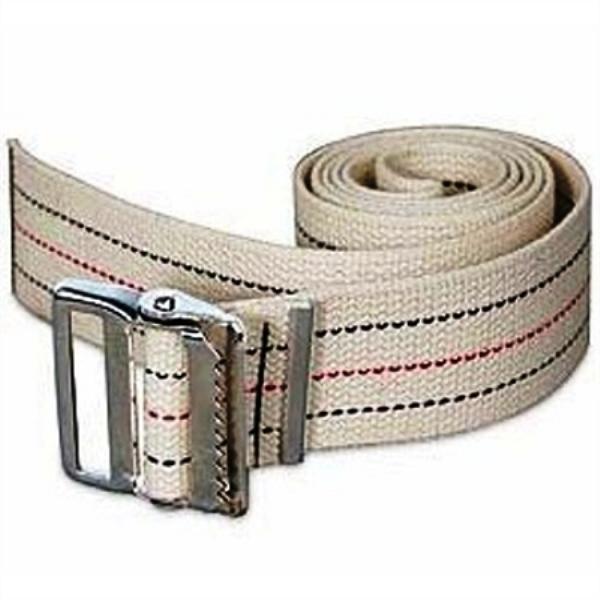 Stripe Economy Gait Belts :: Cotton Webbing Physical