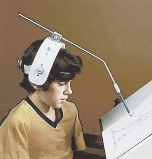 Adjustable Head Pointer Head Wand Typing Aid