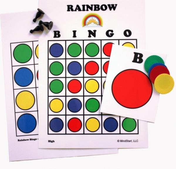 Mind-Start-Rainbow-Bingo-Game