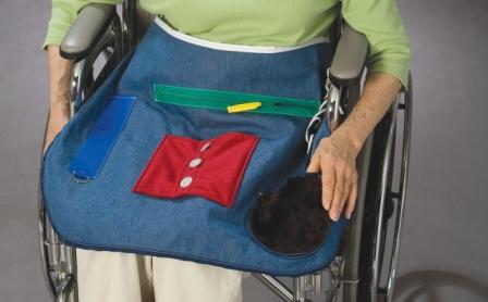 Activity Apron For Dementia By Posey Textures For