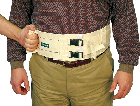 Posey Extra Wide Walking Belt Heavy Duty Gait Belt