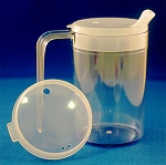 Independence Long Handle Clear Mug